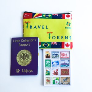 Little Collector's Passport - Travel Scrapbook with Sticker Stamps (3-12 Yrs)