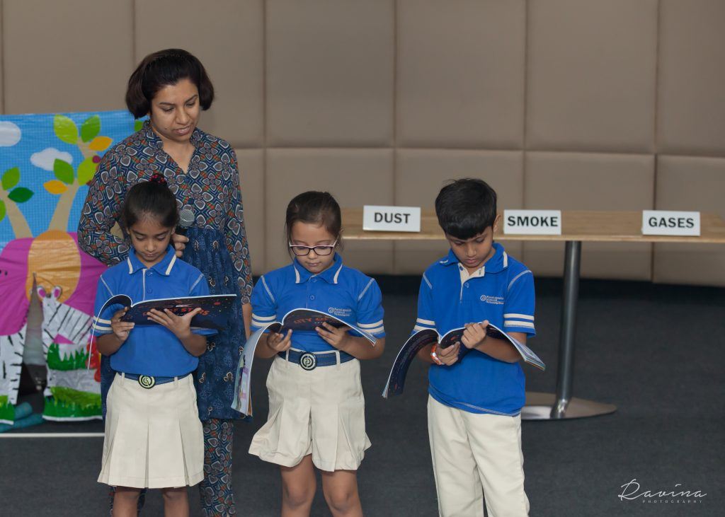 Book reading of City of Stars by students during the session